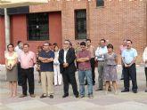 Concentración silenciosa en Molina como repulsa al atentado terrorista de ayer