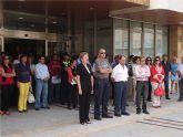 El ayuntamiento muestra su rechazo al último atentado de ETA con un minuto de silencio
