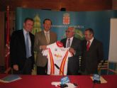 Los ciclistas españoles que compiten en el Campeonato del Mundo de Ciclismo llevan el nombre de Murcia en su equipación