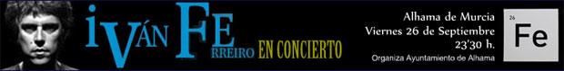 El concierto de Iván Ferreiro se traslada al Auditorio Municipal, Foto 2