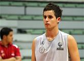Antonio Cánovas entrena por primera vez con el conjunto ACB