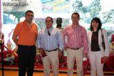 Autoridades municipales visitan los expositores artesanos de Totana que participan en la XXV Feria de Artesanía de la Región de Murcia (Feramur)
