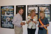 La concejal de Festejos presenta el cartel y programación de las Fiestas Patronales de Puerto Lumbreras