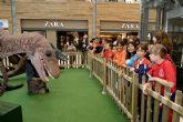 El mundo de los dinosaurios a través de una exposición didáctica