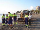 Turismo cuenta con un grupo de 16 trabajadores para la limpieza y mantenimiento de playas
