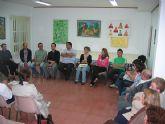 """Los familiares de usuarios del Centro Ocupacional """"Jose Moy�"""" y los profesionales de este servicio se re�nen"""