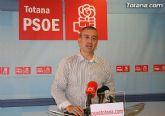 Para los socialistas de Totana, el Pleno de Septiembre es otra oportunidad perdida por el alcalde para tomar medidas ante la crisis
