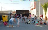 Niños y mayores protagonizan el primero de octubre en las fiestas de La Media Legua