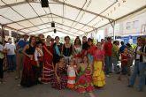 La tradicional Feria de Mediodía Rociera inaugura las fiestas de día del municipio