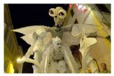 El 39 Festival Internacional de Teatro de Molina de Segura ofrece los espectáculos Teatrillo Mágico, El Ballet de Bombillas, Sienta la cabeza, El Bestiario Relumbrante y Marathon del Ritmo el sábado 4 de octubre