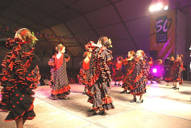 Más de 100 niños y jóvenes participaron el en Festival Flamenco Infantil que además contó con la actuación de 'Riá Pitá' - 2, Foto 2