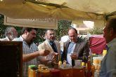 El Director General de Artesanía y el alcalde inauguran el Mercado Medieval de la Feria y Fiestas de Puerto Lumbreras 2008