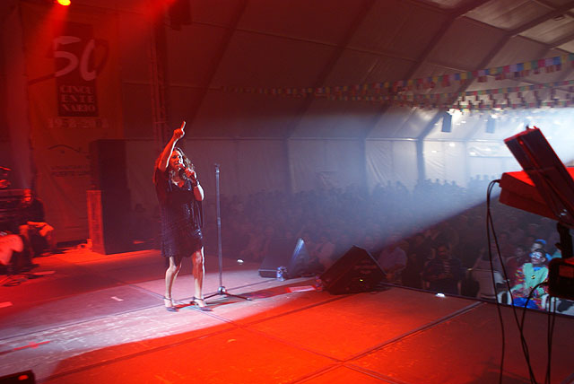 Multitudinario concierto de Lolita en la Caseta Municipal - 2, Foto 2