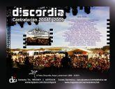 DISCORDIA cerrará su gira 2008 en Totana, el 5 de diciembre, en las fiestas patronales de Santa Eulalia