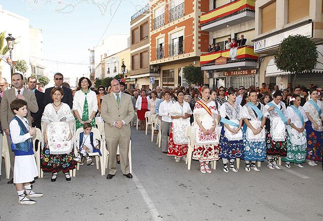 Ofrenda Floral, Misa Solemne y Procesión en Honor a Ntra. Sra. Virgen del Rosario - 3, Foto 3