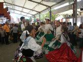 Ambiente Huertano para la Feria del mediodía del domingo