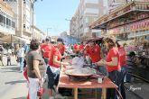 Impresionante participación en el concurso de paellas