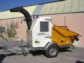 El Ayuntamiento torreño adquiere una biotrituradora de última generación para residuos de poda