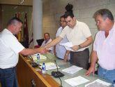 Diego S�nchez Pascual toma posesi�n de su nuevo cargo como alcalde ped�neo de la diputaci�n de La Sierra