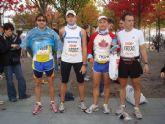 Atletas del Club Atletismo Totana participaron en la 35 edici�n de la marat�n de Berl�n