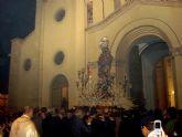 Solemne procesión en honor a la Virgen del Rosario