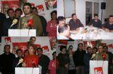 Los militantes de IU en Totana eligen 7 delegados que participaran en la Asamblea de esta formación, el próximo 25, en Molina de Segura.