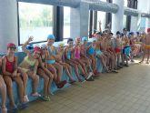 Han comenzado las actividades acu�ticas del primer trimestre de la temporada 2008/09 en la piscina cubierta municipal