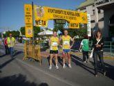 """Atletas del Club Atletismo Totana participaronb en la XI Media marat�n """"Villa de Hu�rcal-Overa"""""""