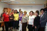 El alcalde inaugura el curso de la Asociación de Amas de Casa, Consumidores y Usuarios de las Tres Avemarías