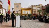Puerto Lumbreras se suma al acto homenaje de la bandera de España con motivo del Día de la Hispanidad 2008