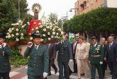 La Alcaldesa y el resto de la Corporación municipal festejan con la Guardia Civil del municipio la festividad de su Patrona