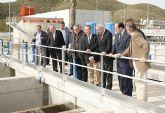 La nueva depuradora de Puerto Lumbreras reutilizará 5.000 metros cúbicos de agua al día para abastecer a más de 50.000 habitantes