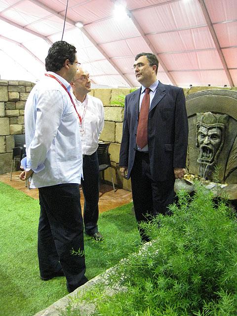 El consejero de Obras Públicas y Ordenación del Territorio inaugura en IFEPA 'Construmurcia 2008' - 3, Foto 3