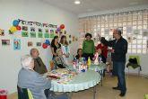 El párroco de Puerto Lumbreras bendice la sede de ALDEA