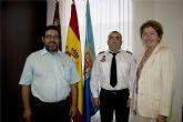 Carlos Luis Ramírez  Gilabert, nuevo jefe de la Agrupación de Voluntarios de Protección Civil del Ayuntamiento de San Javier