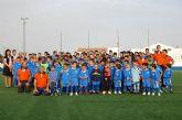 El Club Deportivo Alguazas de fútbol presentó los equipos que afrontarán la temporada 2008/2009.