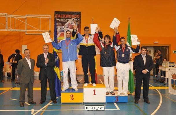 Juan Méndez Pérez, medalla de bronce en el Campeonato de España sub-21 de Tae Kwon Do - 1, Foto 1