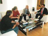 UPyD-Guadalent�n se reuni� con Jos� Mart�nez Andreo