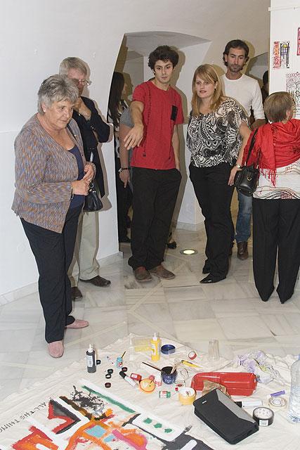 Pinturas, fotografías y ready-mades llenan las salas de las Casas Consistoriales de Mazarrón - 2, Foto 2