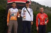 Jos� Andreo, del Club Ciclista Santa Eulalia,  tercero en Moratalla