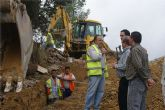 Comienzan las obras de evacuación de aguas pluviales del paraje 'El Morrón' y monte de 'El Castillo'