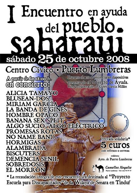 Puerto Lumbreras celebrará el I Encuentro en Ayuda del Pueblo Saharaui - 2, Foto 2