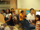 Arrancan los talleres de informática básica organizados por el Servicio Municipal de Inmigración de Totana