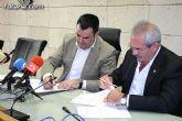 El Ayuntamiento y la Asociación de Empresarios de la Construcción del Bajo Guadalentín (AEMCO) suscriben un convenio