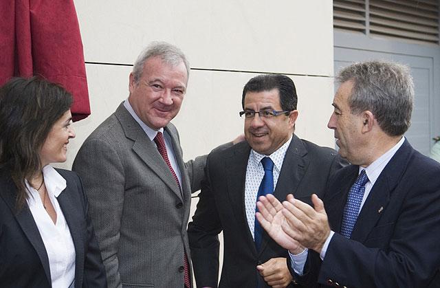 El alcalde asiste a la inauguración de una oficina comarcal agraria para Mazarrón - 1, Foto 1
