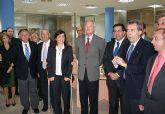 Valcárcel inaugura en Fuente Álamo un edificio que ofrecerá servicios en los ámbitos agrario y municipal