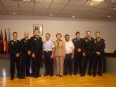 Seis nuevos policías locales se incorporan a la plantilla tras finalizar su periodo de formación y prácticas
