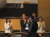 El Centro Tecnológico de la Artesanía estuvo presente en la entrega de los Premios Nacionales de Artesanía 2008
