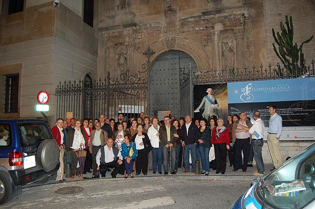 """Numerosos alhameños viajaron a Murcia a la exposición """"Floridablanca 1728/1808. La utopía reformadora"""", Foto 1"""
