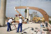 Avanzan las obras del Palacio de Deportes de Cartagena
